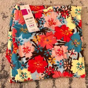 Agnes and Dora leggings - multi colored florals